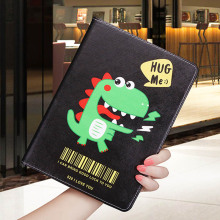 Cartoon Case For ipad Mini 1 2 3 lovely Dinosaur pattern Folding Folio Stand protective Cover Smart