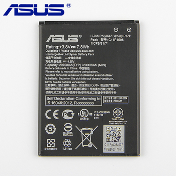Original ASUS C11P1506 Phone Battery For ASUS Live G500TG ZC500TG Z00VD ZenFone Go 5.5 inch 2070mAh asus zenfone live zb553kl