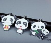 wholesale 10PCS Various kinds of Chinese National Treasure Panda Keychain Chinese Keychain Chain