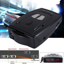 Car Police Anti Radar Detector  Russian 360 16 Band Voice Alert Laser VG-2 Speed Radar Gun Car-Detector LED Display