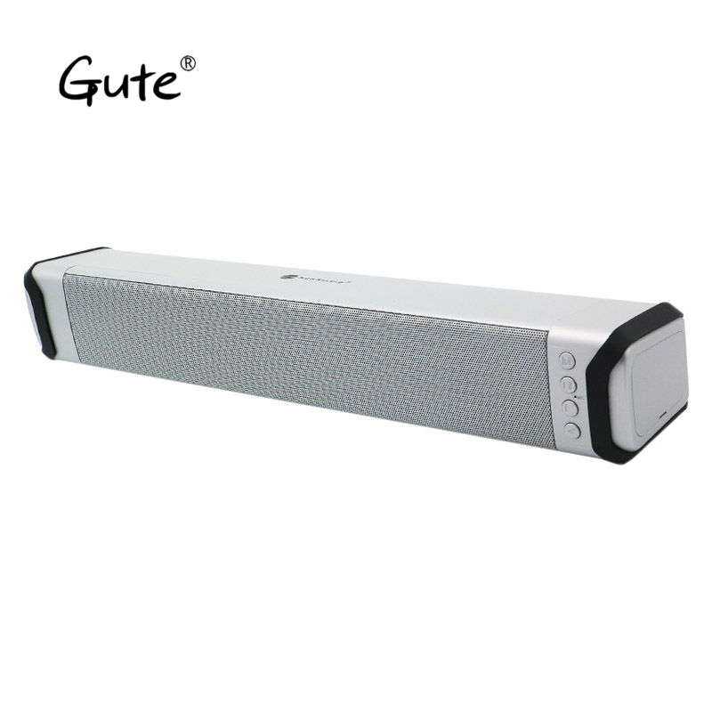 Gute Home theater Bluetooth Speaker soundbar Portable Puissant Subwoofer Handfree Stereo A2DP Altavoz Impermeable caixa de som