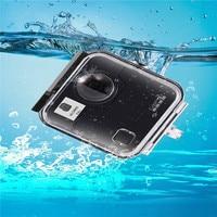Boîtier étanche 40 M pour Gopro Fusion 360 caméra sous marine porte arrière pour Go Pro Fusion accessoires de caméra d'action|Accessoires pour caméscope|Electronique -
