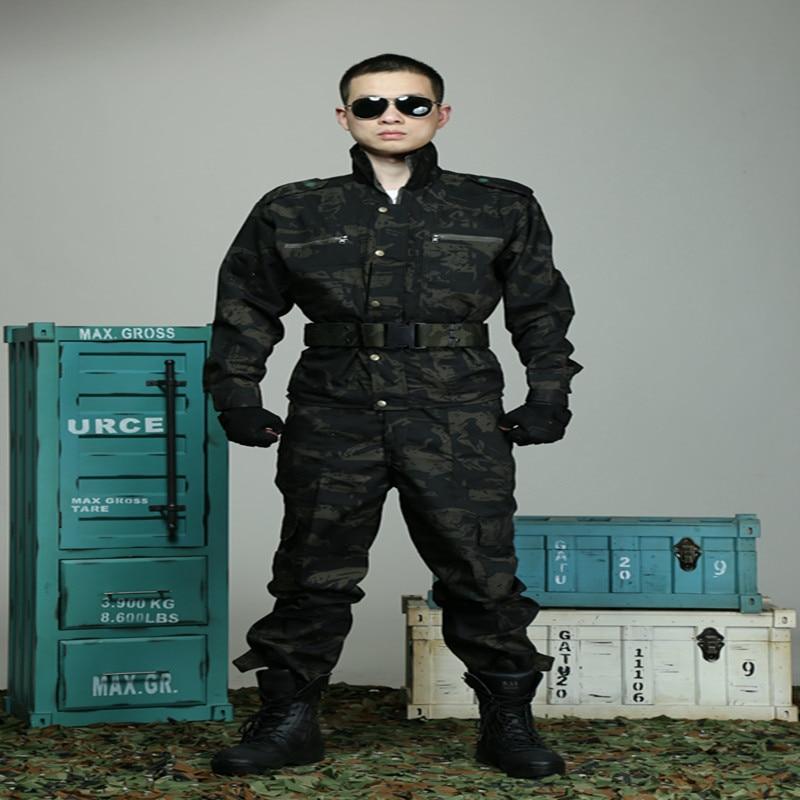 Mannen Camouflagepak Multicam Jachtkleding Tactische Uniformen - Sportkleding en accessoires - Foto 1