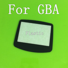 FOR GAME BOY ADVANCE GBA SYSTEM REPLACEMENT SCREEN LENS PROTECTOR PLASTIC MATERIA SELF ADHENSIVE