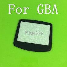 게임 보이 어드밴스 gba 시스템 교체 스크린 렌즈 보호대 플라스틱 물질 자체 adhensive