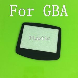 Image 1 - 게임 보이 어드밴스 gba 시스템 교체 스크린 렌즈 보호대 플라스틱 물질 자체 adhensive