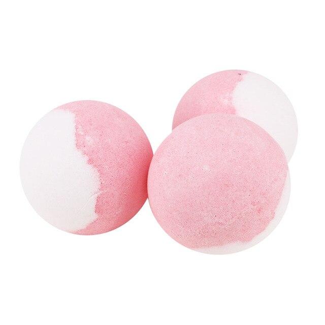 Bath Salt Bombs Balls Whitening Moisture Essential Oil Body Scrubrose Oil Bath Ball Bomb for Home Bathroom Spa Bath 5