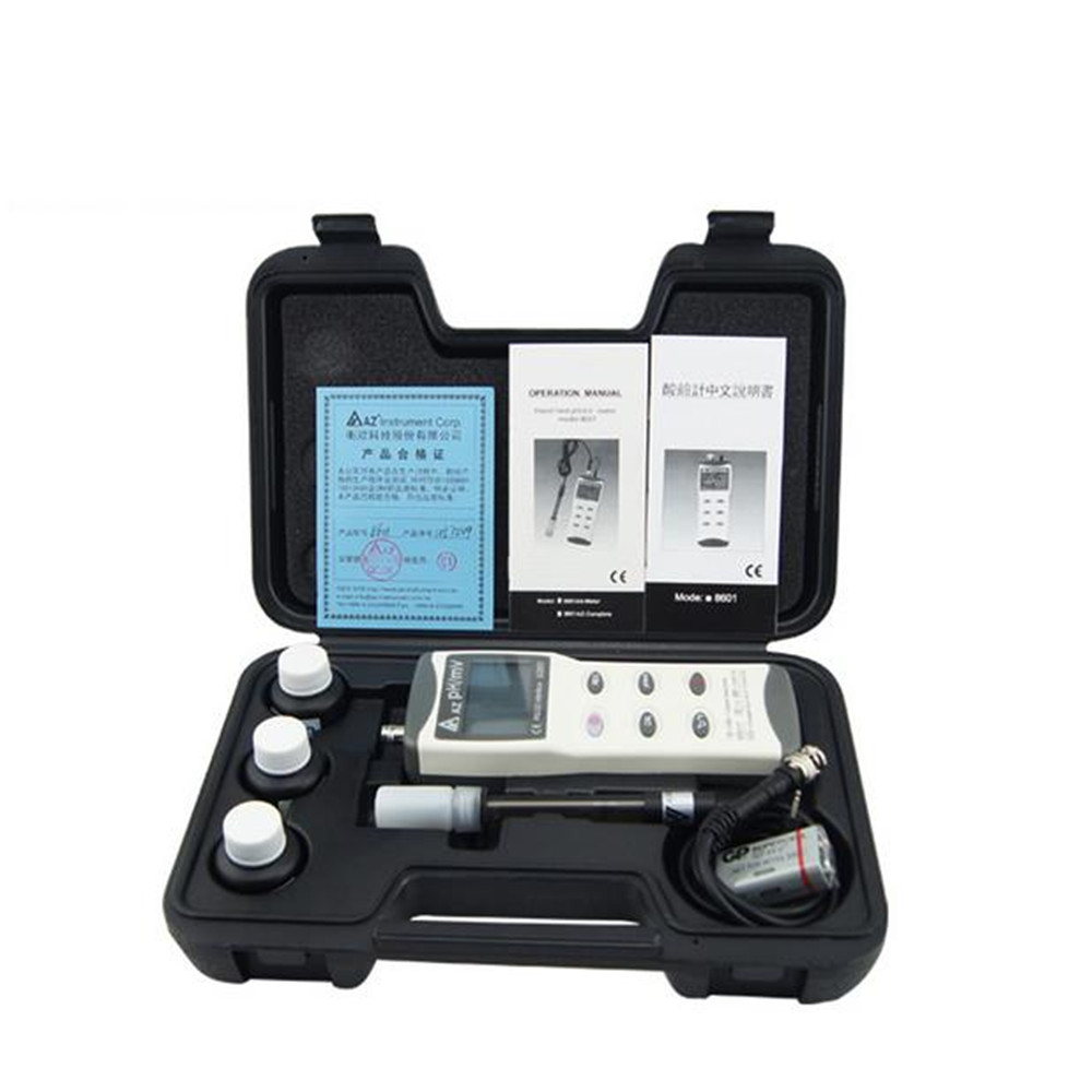 AZ8601 AZ-8601 PH meter price of Range 0.00-14.00 PH & ORP Mv &Temperature Meter amt01 waterproof ph orp temperature meter with ph range 2 16 00ph