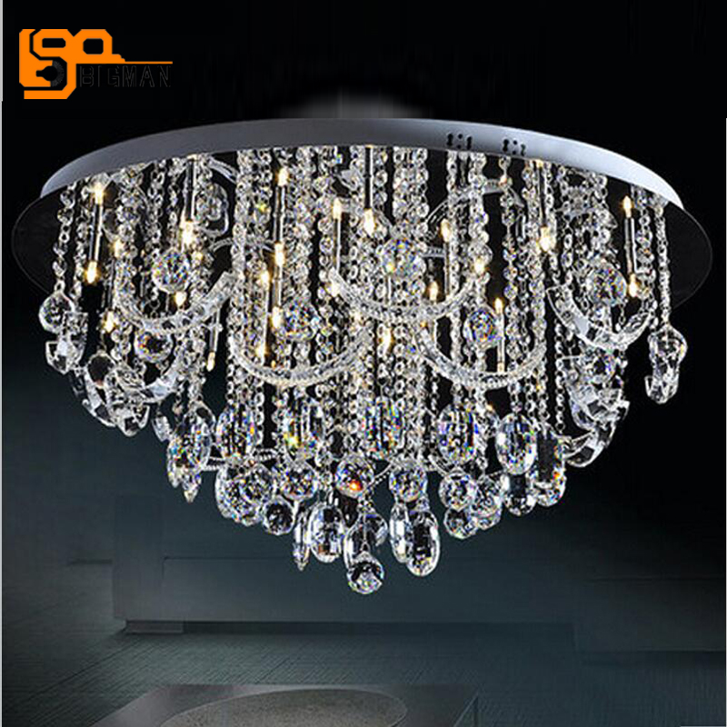 Lights & Lighting Chandeliers Dependable Novelty Led Light Ceiling Chandelier Chandeliers Lamp Decor Living Room Chandelier Lighting Light Fixtures Glass Lustre