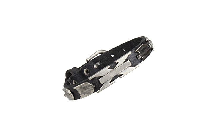 Free shipping 100% Genuine Cowhide Leather bracelet men for women - Fashion Jewelry