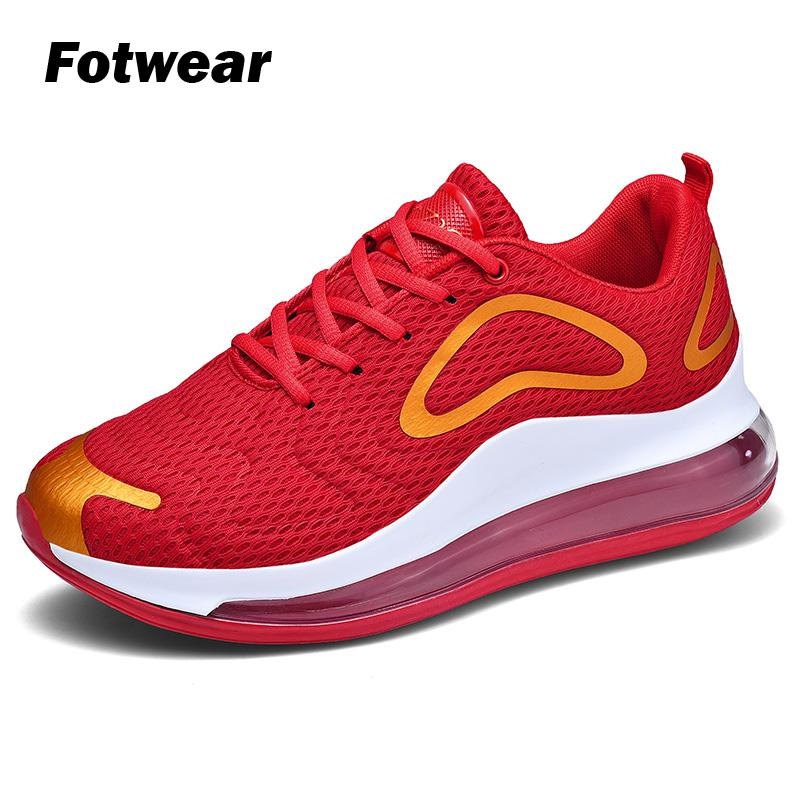 Men fashion sneaker Air cushion footbed Men casual shoes Lace Up Outdoor Male Shoes Adult Footwear Moccasins schoenen mannen in Men 39 s Casual Shoes from Shoes