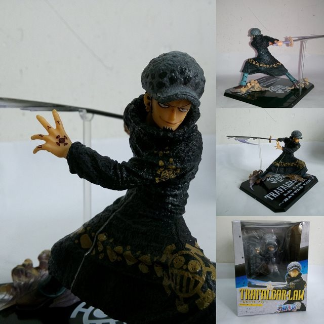 Free Shipping Cool 5 One Piece The Surgeon of Death Trafalgar Law After 2 Years Battle Ver. PVC Action Figure Model Toy  #033 tina bregant perinatal hypoxic ischaemic encephalopathy twenty years after