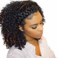 Kinky Curly Wig 360 Lace Frontal Wigs Pre Plucked With Baby Hair Lace Front Human Hair Wigs Brazilian Virgin Hair You May