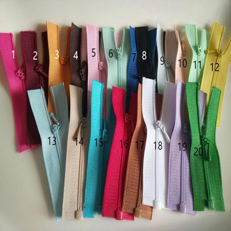 Аксессуары для кукол 0 #, молнии с открытым концом, многоцветные 7 см 10 см Куклы    - AliExpress
