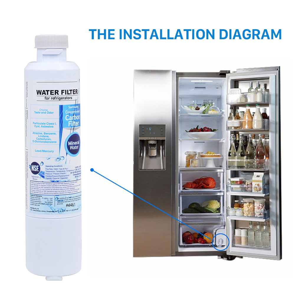 Samsung Rf4287hawp Refrigerator Wiring Diagram Schematics Rs253baww Activated Carbon Water Filter Ge Oven