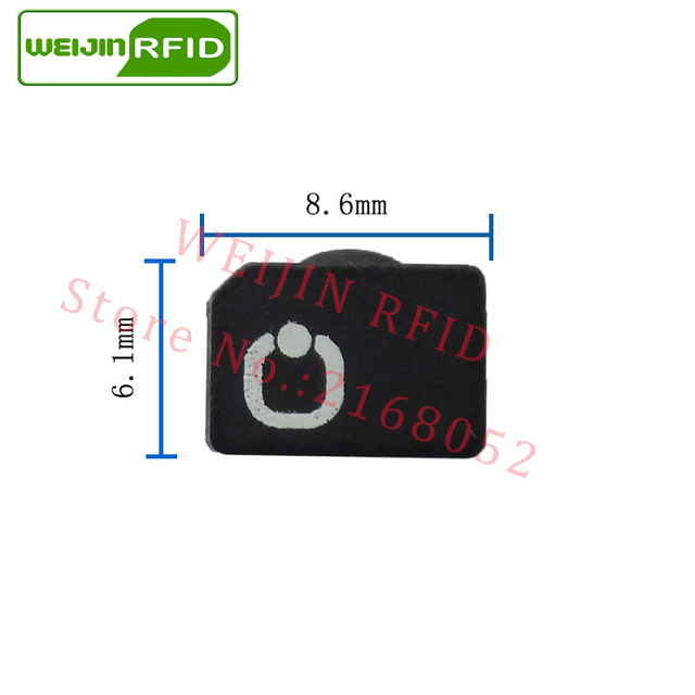 UHF RFID anti-metal tag omni-ID fit200 fit 200 915mhz 868mhz Alien Higgs3 EPCC1G2 6C durable paint smart card passive RFID tags