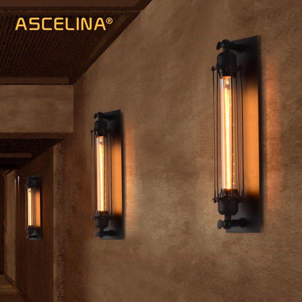 Industriale applique da parete d\'epoca reggiseno ferro loft lampade camera  da letto corridoio bar corridoio magazzino ristorante pub cafe lampada da  ...