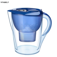 3.5L Water Pitcher Pure Healthy Mineral Water with 1 Filter Jug Filter Kettle Water Jug with Filter Element