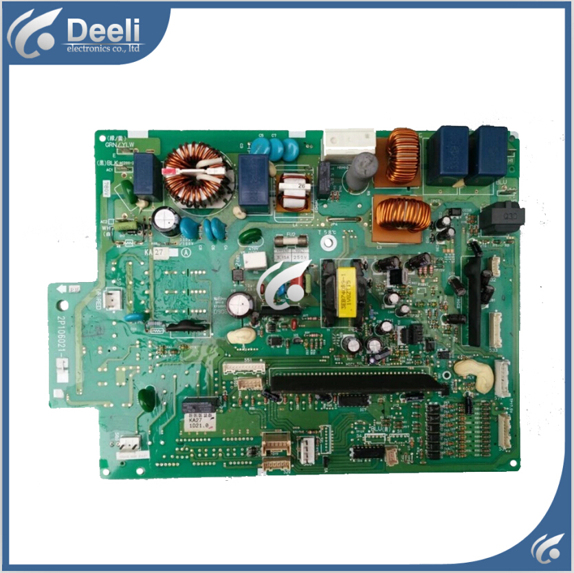 95% new original used for inverter air conditioner board 2P106021-1 RXD71BMVMC outside the machine computer board 1pc used s inverter board a5e00296878 zl02