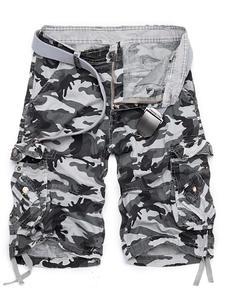 BSETHLRA Camouflage Summer Short Pants Homme