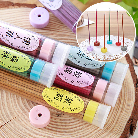 50 pcs indoor Mix fragrance oils suit smokeless fire cane fragrance incense room hotel room Rose Scent Potpourri