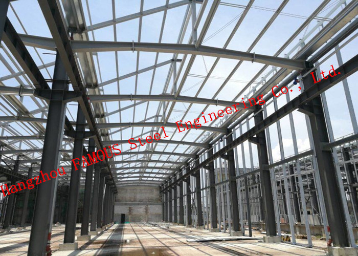 Huge Span Hot Dip Galvanized Pipe Truss Project Industrial Steel Buildings EPC Project General Contractor