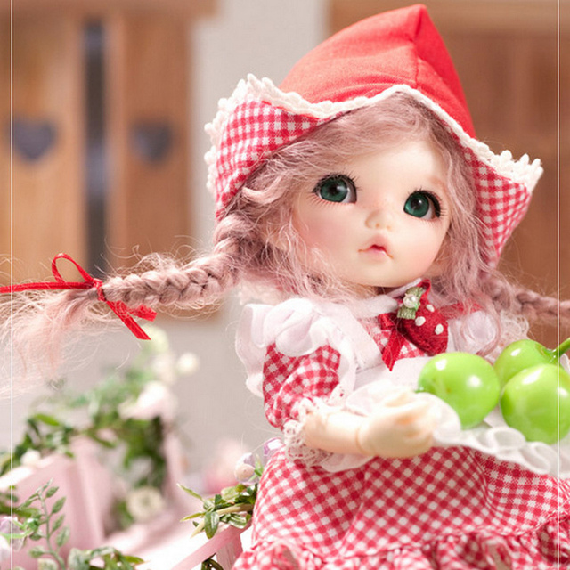 Doll BJD Pukifee Ante 1/8 Cute Fashion Resin Natural Pose Toys for Girls Toy Girl Mini Baby Jointed Dolls FL