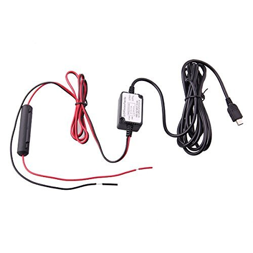 Free shipping!! 5V 2A Micro USB hard wiring kit with fuse