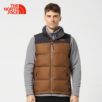 The North Face North fall and winter new 800 Peng warm water outdoor male down vest