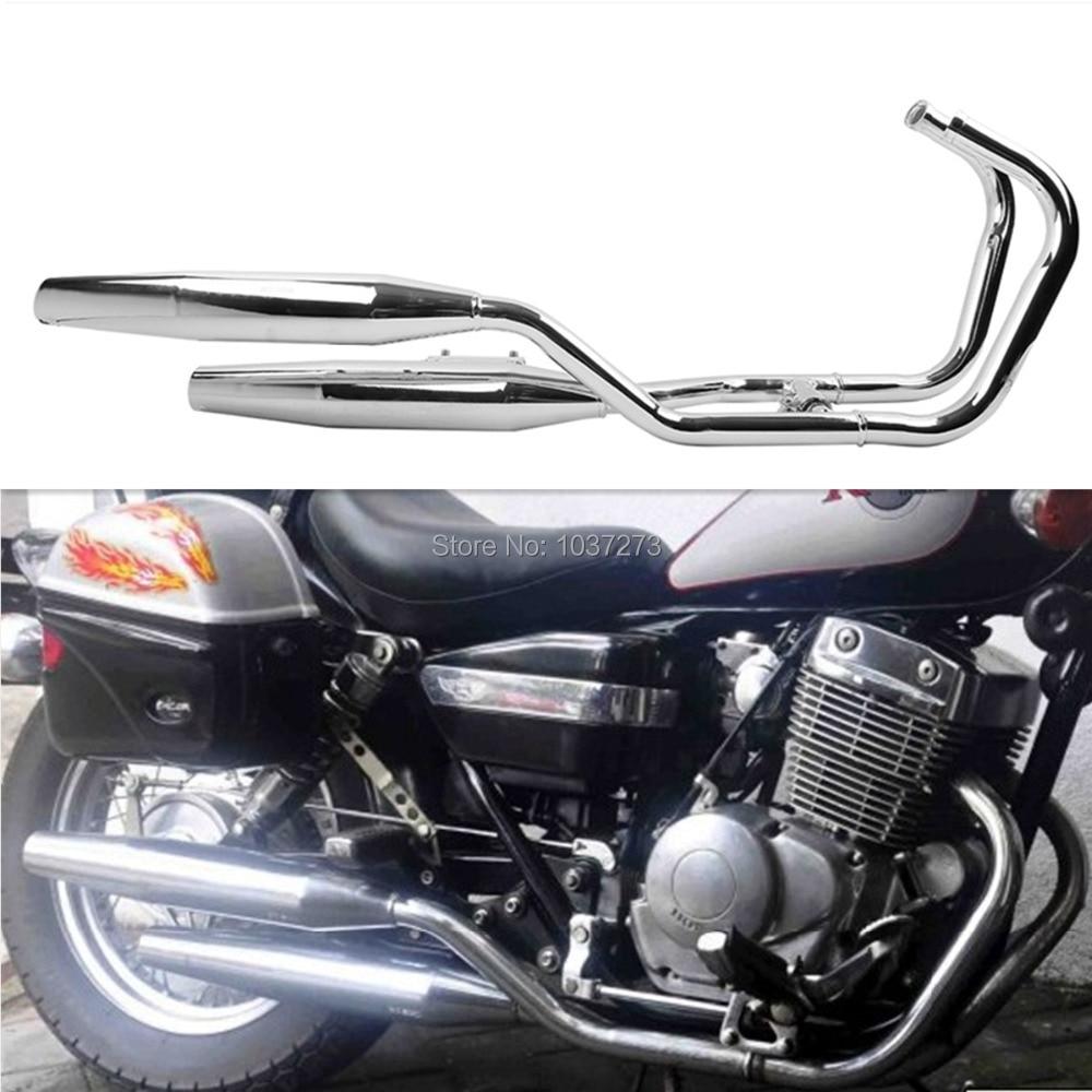 exhaust muffler for honda rebel 250