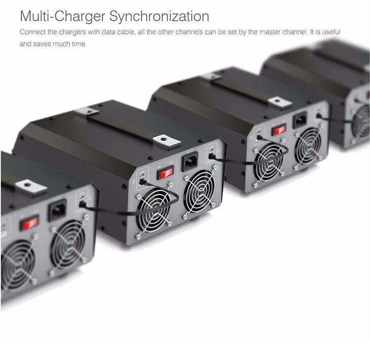 duplo carregador de bateria de lítio para