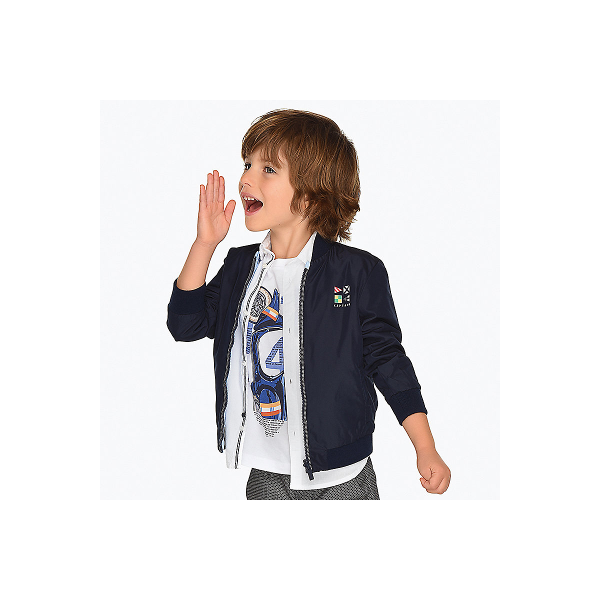 Фото - Mayoral Jackets & Coats 10690924 jacket for boys coat baby clothes children clothing outwear boy reima jackets 8688821 for boys polyester winter fur clothes boy