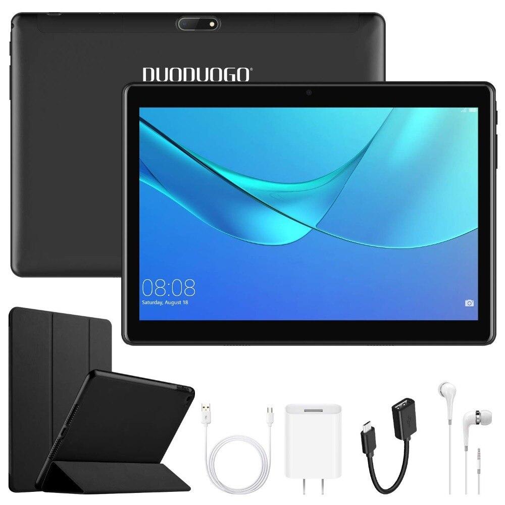 "DUODUOGO G10 Call Tablet Mobile Phone Android 7.0 10.1"" HD Screen 2GB RAM 32GB ROM Dual Sim 8500mah 3G Quad Core Smartphone"