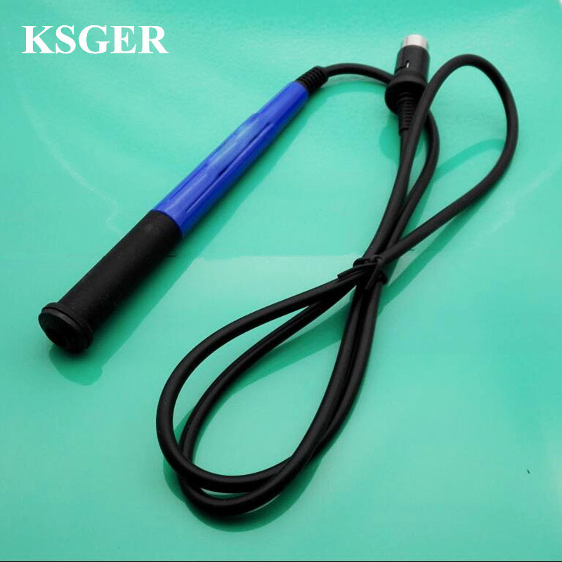 Modified FX-9501 Handle For T12 Oled Digital Display Soldering Station Silicone Line Handle DIY