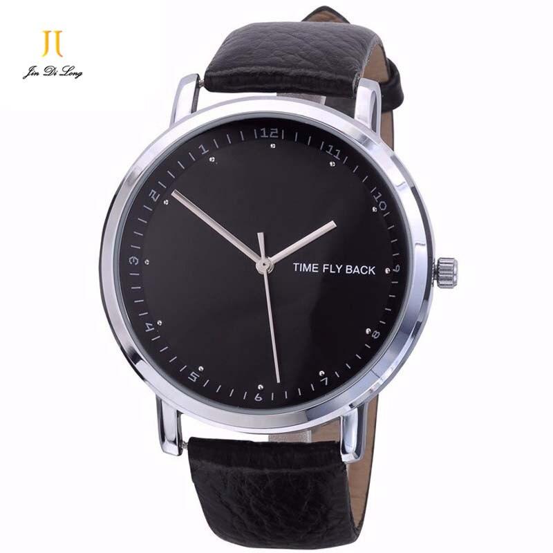 Men quartz-watch style clock Luxury Top Brand sports quartz watch for man classic Wrist watches waterproof Leather men's watch 尚龙 户外金属灯头二用充电调焦强光头灯套装 3档cree q5灯泡sl e25
