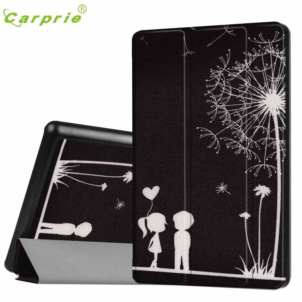 CARPRIE Flip Leather Case Cover Holder For Amazon Kindle Fire HD 8 Inch Tablet Feb3 MotherLander