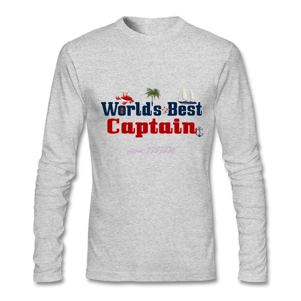 T shirt design youtube - Stay Men Full Sleeve Men Shirt Teenage Worlds Best Captain Natural Cotton Worlds Best Captain Round Collar Design Summer Clothing Shoes