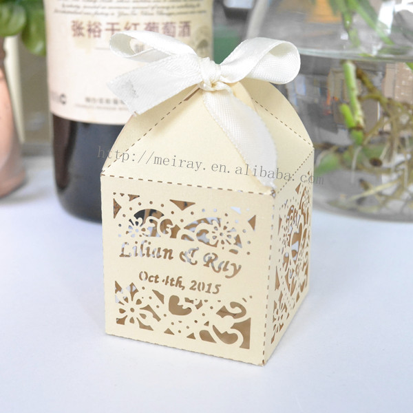 Aliexpresscom Buy red wedding favor boxes love heart shaped