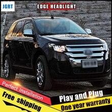 Pcs Car Style Led Headlights For Ford Edge   For Edge Head Lamp Led