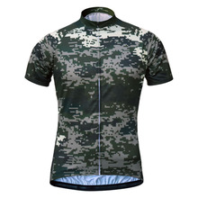 Cycling Jersey Men's Breathable Camouflage Cycling Jersey Outdoor Sports Wear MTB Bike Jersey Camisa Ciclismo in 6 Size