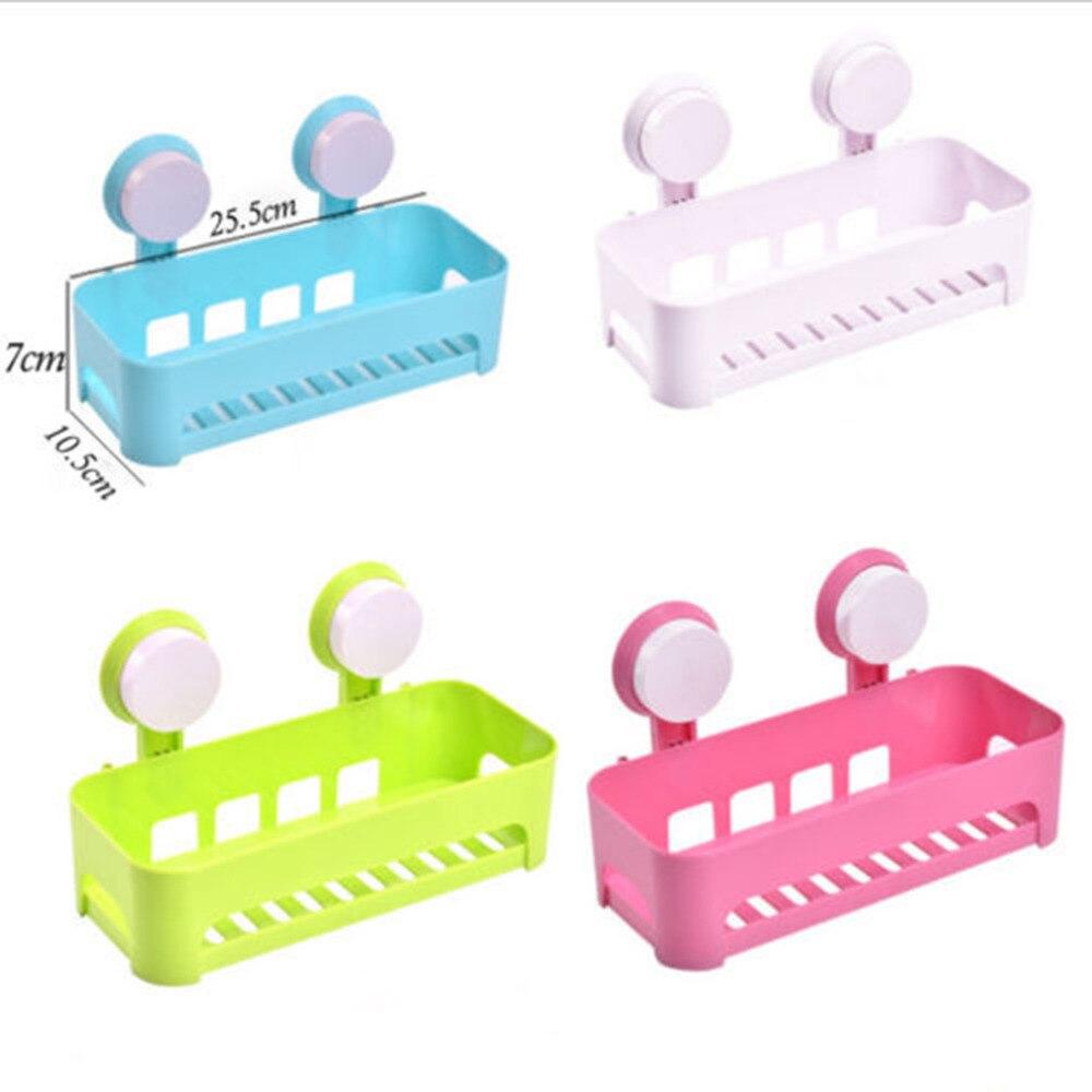 Kitchen Sink Shelf Organizer Aliexpresscom Buy Hot Wall Sucker Plastic Organizer Net Box