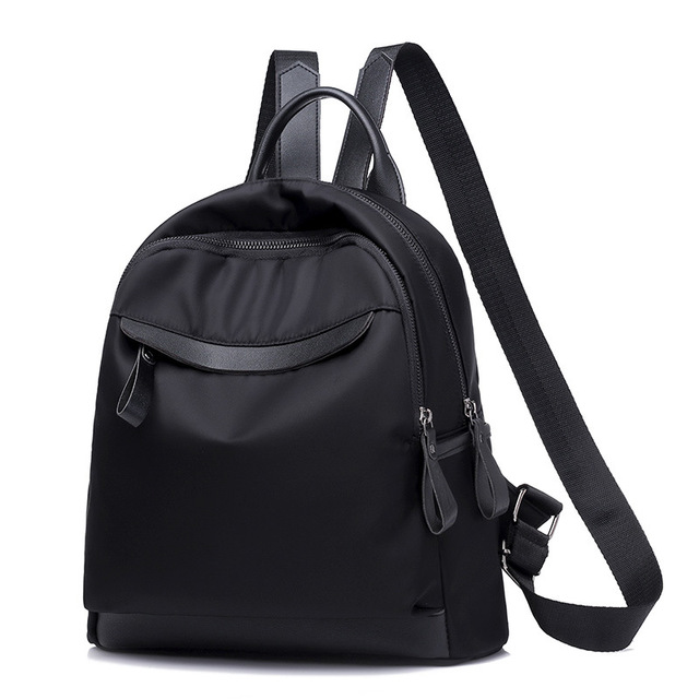 2ff7af717d2b Casual Women s Oxford Cloth Backpacks Ladies Fashion Travel Bags Female  Backpack Multifunctional Travel Bag Laptop Daily Bolsa