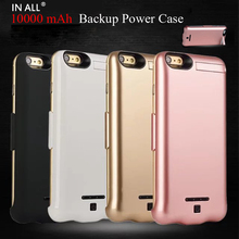 IN ALL 10000 mAh Battery Power Bank Case For iPhone 7 Plus External Charger Backup Cover For iPhone 7 Plus Capa Fundas