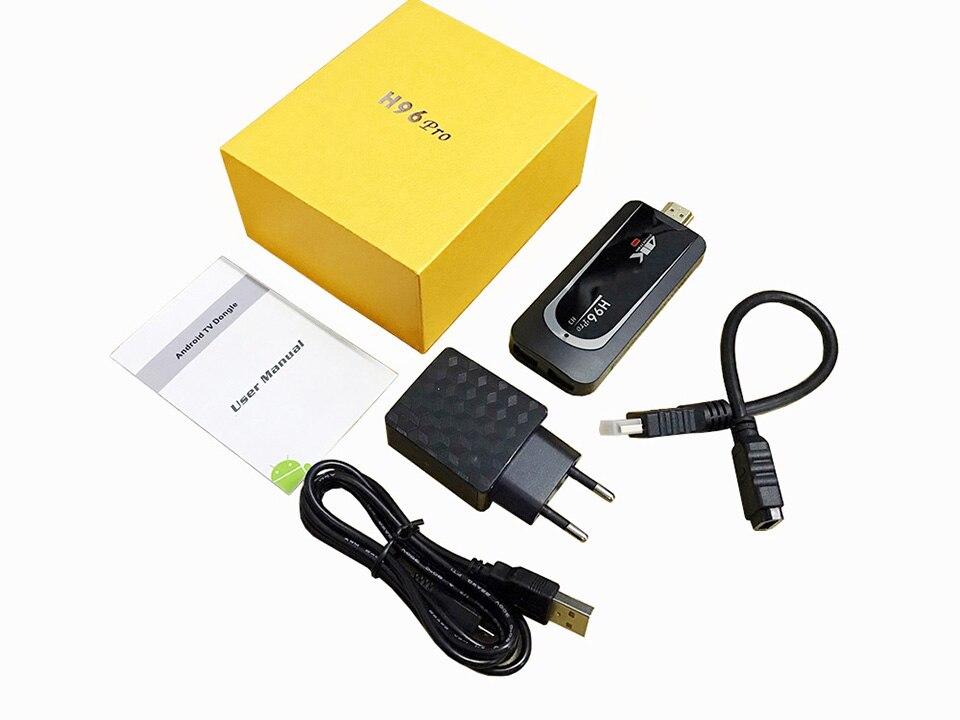 4 K Smart TV Stick H96Pro H3 Android 7.1 OS Amlogic S905X Quad Core 2G 16G Mini PC 2.4G 5G Wifi BT4.0 1080 P HD TV Dongle - 6