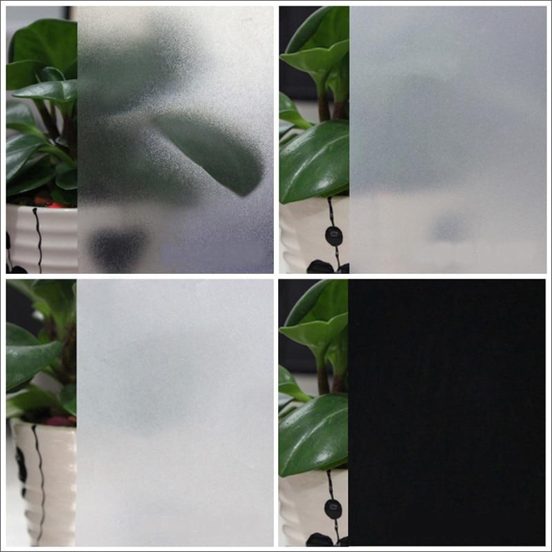 50*200 Cm Szkło Matowe Film Nieprzezroczyste Biuro Anty Uv Ochrona  Prywatności Naklejki Wc łazienka Sypialnia Dekoracji Okna