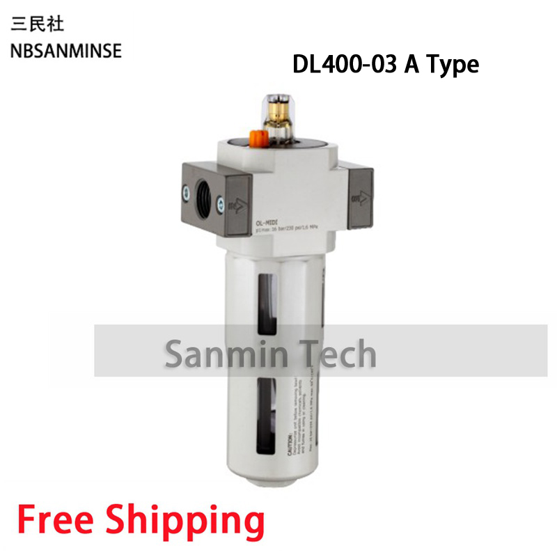 NBSANMINSE DL M5 1 8 1 4 3 8 1 2 3 4 1 Lubrication Air Preparation Units OC DC FRL Air Filter Regulator Parts in Pneumatic Parts from Home Improvement