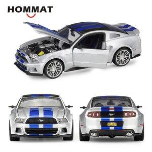 Image 1 - HOMMATจำลองMaisto 1:24 2014 Ford Mustang Street Racerรุ่นรถDiecast Toyรถสะสม