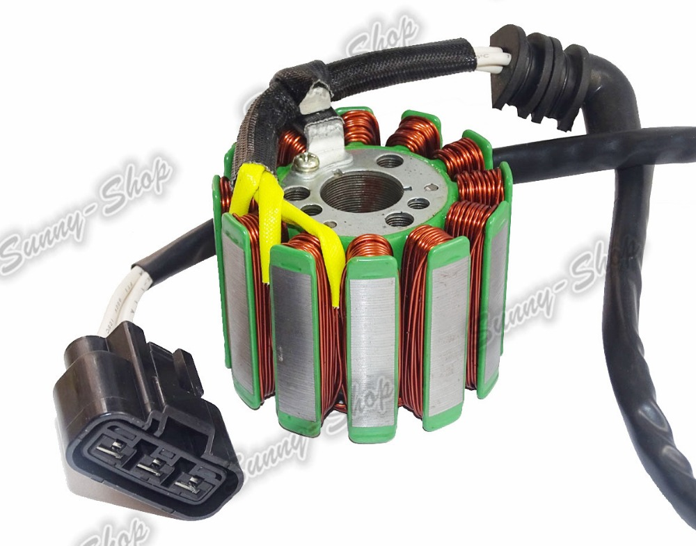 waase Engine Magneto Generator Charging Alternator Stator Coil For YAMAHA YZF R1 RN12 RN19 2004 2005 2006 2007 2008 image
