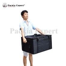 63*48*36 см пиццы транспортный ящик, большая сумка для доставки пиццы, ресторанов, перевозчик, мотоцикл, 2-сторонняя молния Застежка Zl-634836