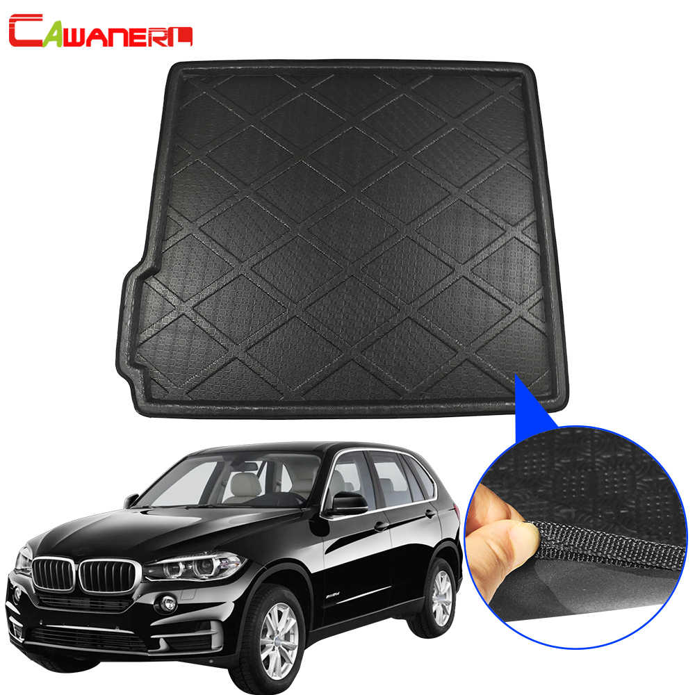 Tray Boot Liner Cargo Floor Mat Carpet Waterproof Mud Protective Pad Accessories for BMW 5 Series G30//G38 2017~2019 Car Rear Trunk Cargo Storage Mat Black